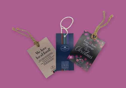Swing Tags & Self Wobblers